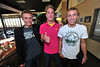 09EPCirones The Boys together.jpg Ben, Isaak and Andrew Cirone enjoy the day at Estes Park High School on Wednesday. As if it weren't enough to have three brothers together at the same time, they have a sister at the school who is a freshman.