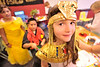 Walt Hester | Trail-Gazette<br /> Megan Miller, 9, dresses as Egyptian Queen Cleopatra at the elementary school on Thursday.