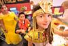 Walt Hester | Trail-Gazette<br /> Megan Miller, 9, dresses as Egyptian Queen Cleopatra at the elementary school on Thursday.
