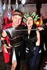 Walt Hester | Trail-Gazette<br /> Chad Archibeck and Alisha Riggs, both of Los Angelese, are Perseus and Medusa at the Shining Ball on Saturday.