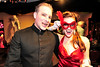 Walt Hester | Trail-Gazette<br /> A colorful local couple hangs out at the Bloody Mary Ball on Saturday.