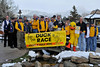 Walt Hester | Trail Gazette<br /> Ducks and duck supporters celebrate the annual opening of Duck Central in Lower Stanley Village on Thursday. The space was donated by Wheeler Management, while the internet provider is Baja Cable.