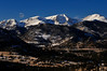 Walt Hester | Trail-Gazette<br /> The peaks of the Mummy Range stand out against a clear and cold afternoon sky on Monday. Sunshine is expected for most of the week in Estes Park.