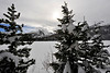 Walt Hester | Trail-Gazette<br /> Snow covers Rocky Mountain National Park on Wednesday. The park has become a winter wonderland for Christmas visitors.
