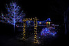 Walt Hester | Trail-Gazette<br /> Twinkling and color-shifting lights make this Fish Creek home unique.