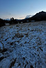 Walt Hester | Trail-Gazette<br /> A disappointing dusting of snow greets Estes Park residents early Thursday. The ever-changing forecast now predicts snow begining Friday and lasting through Monday.
