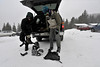 Walt Hester | Trail-Gazette<br /> A pair of back country skiers prepare for an afternoon in new snow. Whith 95 percent of the national park being wilderness, there are plenty of opportunities to enjoy the park by yourself.