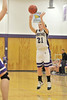 Walt Hester | Trail-Gazette<br /> Julia Lawrence shoots for two of her 15 points against Machebeuf. Lawrence had a three-pointer and shot 4 of 6 freethrows.