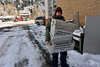 Walt Hester | Trail Gazette<br /> Postal carrier Joan Hansen hustles into the post office after spending two hours delivering in sub-zero cold on Tuesday. Lows Tuesday night and Wednesday morning were expected to dip dangerously low, possibly more than 20 degrees below zero.