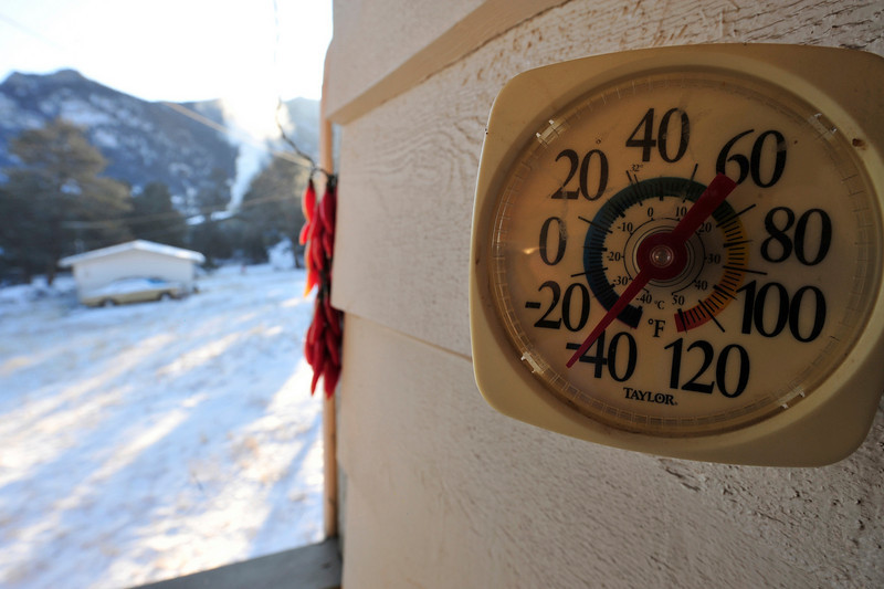 Walt Hester | Trail Gazette<br /> Thermometers dipped even deeper on Wednesday morning, more than 30 degrees below zero. Temperatures on Friday could be as much as 70 degrees higher than on Wednesday.