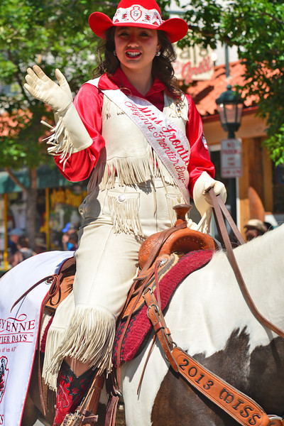 Miss Frontier, Chloe Pfoor, is arguably the secind most high-profile rodeo queen in the country. Cheyenne Frontier Days, which begins this weekend, is one of the biggest rodeos in America.