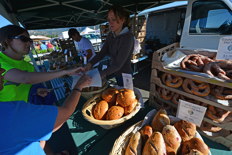 Long-time vendors, Styria Bakery, are a summertime treat atthe market.