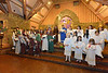 Shepherds, angels, stars and a holy family take a bow on Sunday. The Sunday school classes put on the annual Christmas Pageant at Our Lady of the Mountains Catholic Church.