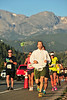Runners face the sun as well as the steep climb up Big Thompson Avenue on Saturday. The Rocky Mountain Half Marathon used much of the same route as the EP Half Marathon did earlier in the summer.