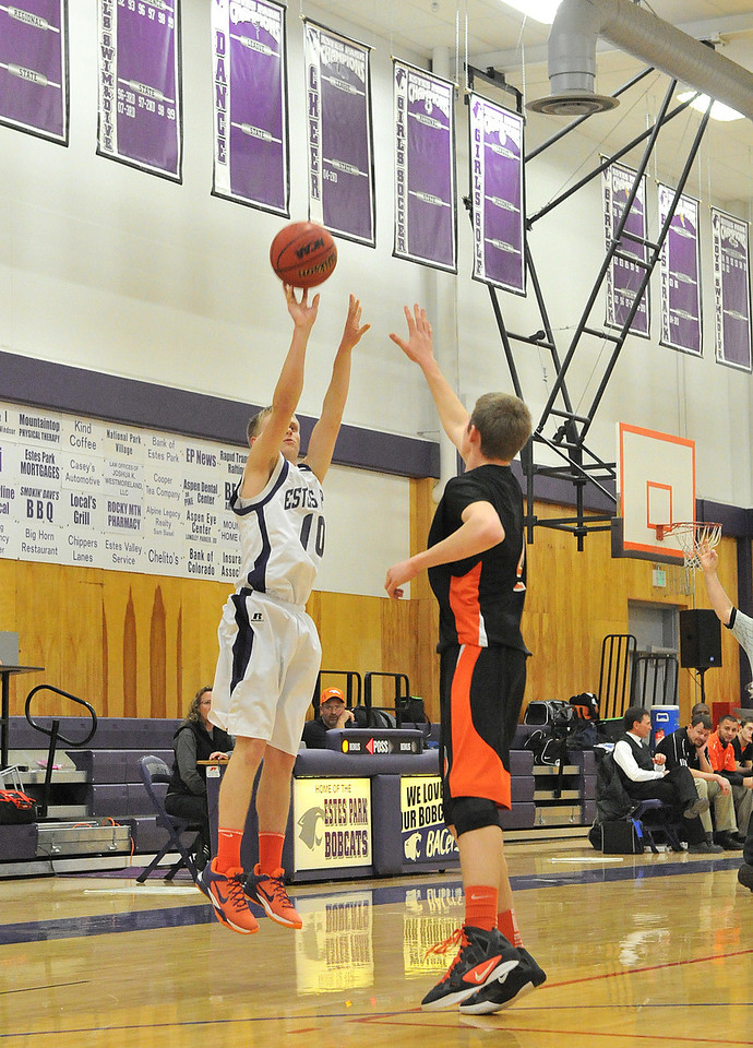Taylor Marshall shoots from outside against the Sterling Tigers on Saturday. The Bobcats were unable to overcome the Tigers early lead, suffering their fourth straight loss, fifth of the season.