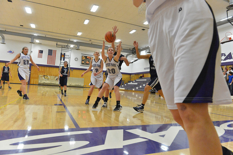 Becky Reilly gets position on a loose ball on Tuesday. The Ladcats completely outplayed the Timberwolves, but felt they could do much better.