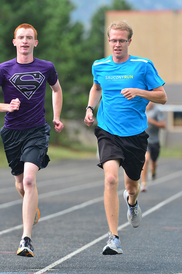 Russ Hall and Jeff Switzer lead a stacked boys team into the new season. The Bobcats are the only team in their state division to return two all-state runners.