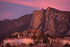 02EPNews Stanley Sunrise.jpg Thursday's sunrise splashes unusual color on the Stanley Hotel and Lumpy Ridge. November began unusually warm with daytime highs in the upper 50s and 60s.