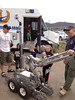 The Northern Colorado Bomb Squad robot attracted a number of interested onlookers at the May 18 Estes Park Safety Expo at the Stanley Fairgrounds.