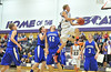 Andrw Cirone launches above Resurrection Christian defense on Tuesday. Cirone scored 22 points in the close win.