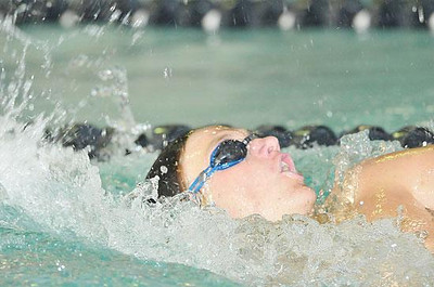Estes Park swimmer Dylan Westover will train with former Bobcat coach Sam Hewson this summer in Arizona. TG file photo by Walt Hester
