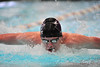 Walt Hester | Trail Gazette<br /> Estes Park's Forrest Beesley swims the 100-yard butterfly in March. Beesley is back from a foot injury and qualified for May's state swim meet in the 100 fly.