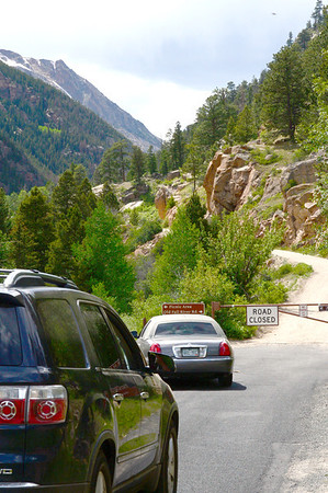 Traffic can head up Old Fall River Road begining on Friday, June 15 when the one-way road in Rocky Mountain National Park is open for the season.