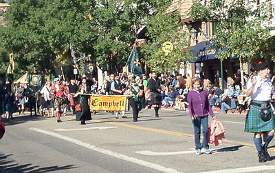 The 36th annual Longs Peak Scottish/Irish Highland Festival Parade was held Saturday, Sept. 8 under sunny skies in downtown Estes Park. The parade is one of the highlights of the annual festival that concludes Sunday, Sept. 9 at the Fairgrounds at Stanley Park.