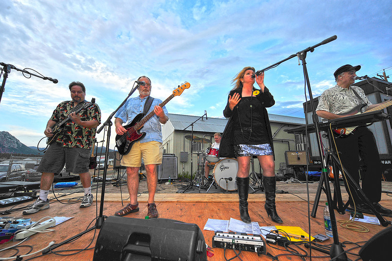 Walt Hester | Trail Gazette<br /> Local favorite Amplified Soul play a benefit for the victims of the Northern Colorado wild fires in June. The band made the rounds of outdoor events, and wowed long-time fans and those just discovering them this summer.