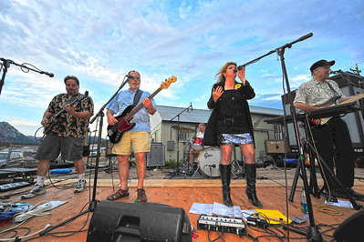 Walt Hester | Trail Gazette Local favorite Amplified Soul play a benefit for the victims of the Northern Colorado wild fires in June. The band made the rounds of outdoor events, and wowed long-time fans and those just discovering them this summer.