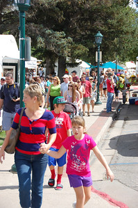 The annual Estes Park arts and crafts fair in Bond Park was a big draw over the Labor Day Weekend. The annual fair in downtown Estes Park was a centerpiece to a busy weekend in Estes Park that included the annual John Denver tribute concert Saturday night at the Fairgrounds at Stanley Park and the alpaca show, also at the fairgrounds.