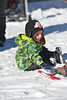 Rivers Kordis, 1, of Fort Collins checks out some new snowshoes at the annual Winter Trails Day in Rocky Mountain National Park on Saturday. The event brought enthusiasts and venders together for a nice winter day outside.