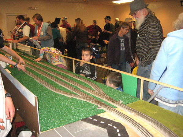 No matter the age, model trains fascinate. The Rails in the Rockies show offered many tracks to explore last weekend.