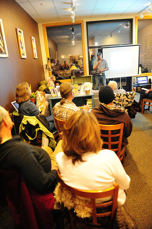 Walt Hester | Trail Gazette<br /> Local Democrats gather to organize and mobilize voters ahead of next Tuesday's precinct caucuses. For Democrats, it's more about mobilization, as their presidential ballot only has one name.
