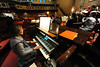 Walt Hester | Trail Gazette<br /> Organist Phyllis Eggers plays along during the Monday rehearsal at the Mountain View Bible Fellowship.