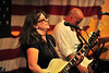 Walt Hester | Trail Gazette<br /> Melanie Owen Padilla of the Cedar Avenue Blues Band playsat the Notchtop Cafe on Saturday. The Denver band was the fourth in the cafe's Blues in the Rockies series, which continues in two weeks.