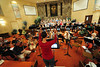 Walt Hester | Trail Gazette<br /> The Oratorio Society of Estes Park, with new conductor Kathryn Bowers, prepare for their spring concert on Monday. The concert will be Friday and Saturday nights at te Mountain View Bible Fellowship.