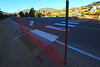 Walt Hester   Trail Gazette<br /> Though the trail is complete, crosswalks at Fish Creek and Scott Avenue are still closed. Town officials site safty concerns for the closure.