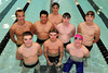 Walt Hester | Trail Gazette<br /> The Estes Park Bobcat swim team is ready for state. The swimmers are, from back left, TJ Hall, Andrew Park, Storm Wolf, AJ Schwarz, Luke Holmes, front left, Will Casey, Logan Ash and Forrest Beesley. Not pictured are Nate Dewitt and Alex Franklin.