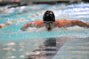 Walt Hester | Trail Gazette<br /> Forrest Beesley butterflys to victory and a state qualification earlier this month. Beesley and the team head to Thornton for the 4A state swimming and diving meet beginning on Friday.