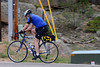 Walt Hester | Trail Gazette<br /> A cyclist begins the steep ascent out of Estes Park on US36 on Saturday. Some 2,000 cyclists will descend into Estes Park in eight days, Thursday, June 14.