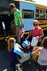 Walt Hester | Trail Gazette<br /> Members of Estes Park's Soaring Eagles 4-H Club unload donated items at Crossroads Ministries on Monday. The group, along with the help of The Town of Estes Park, the Stanley Fairgrounds, Rambo's, Mountain Dew and Rocky Montain Discount Liquors, collected and distributed the donations for victims of the High Park and Woodland Height fires.