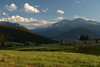 Walt Hester | Trail Gazette<br /> Skies clear over Estes Park as shadows stretch across the valley on Wednesday. Sunny skies may be the exception rather than the rule this weekend, as more rain is expected, at least in the afternoon.