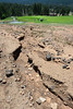 Walt Hester | Trail-Gazette<br /> Heavy rain over the weekend washed dirt and asphalt down the 10th fairway at the public 18-whole course. The EVRPD had a busy day scraping mud and repairing sandtraps at the course.