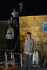 Walt Hester | Trail-Gazette<br /> Chance Lyons portrays the character Bobby Strong in the Eagle Rock production of Urinetown. The satire skewers most aspects of modern society and the Broadway production won three Tony awards.