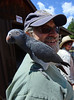 Walt Hester | Trail-Gazette<br /> Doug Greenspan of Niwot carries Kali, his parrot, through the Hilltop Guild's annual Bazaar and Festival on Saturday. The crafts and goodies attract interesting people from all over the Front Range.