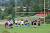 Walt Hester | Trail-Gazette<br /> Estes Park Middle School boys await instruction on the high school's practice field on Monday. The younger boys have begun their season, and for some, a whole new sport.