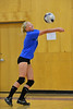 Walt Hester | Trail-Gazette<br /> Lanie Clark returns a hit during volleyball tryouts on Monday. After the long summer, it was quickly obvious who had been working on her game.