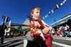 Walt Hester | Trail-Gazette<br /> A young piper marches down Elkhorn Avenue during the annual parade for the Longs Peak Scottish Irish Highland Festival on Saturday. The festival annually draws ten times the population of Estes Park and is the largest Celtic heritage festival in North America.