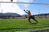 Walt Hester | Trail-Gazette<br /> Estes Park's Zach Pierce score past Nederland keeper Sam Churches on a penalty kick on Saturday. The 'Cats are 3-2 on the season after the drubbing of the visiting Cougars.